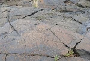 Glacial pavements, Nooitgedacht, Kimberley District